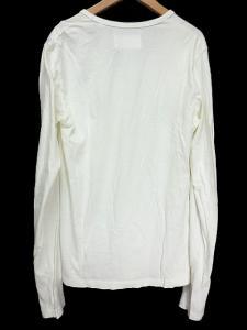 【Martin Margiela 10/マルタンマルジェラテン】 無地 シンプル ポケット付き クルーネック 長袖Tシャツ カットソー ■44■ホワイトの買取実績