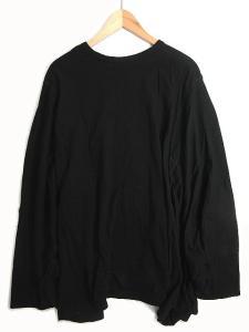 15ss ガンリュウ GANRYU コムデギャルソン Tシャツ カットソー 変形 ビッグシルエット プルオーバー 長袖 黒の買取実績