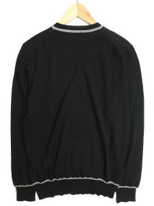アルマーニ コレツィオーニ ARMANI COLLEZIONI ニット セーター Vネック ハイゲージ プルオーバー 長袖 48 黒 グレー 秋冬春 メンズの買取実績