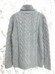 未使用品 16AW ドゥニーム DENIME ニット セーター ケーブル編み タートルネック 長袖 M グレー 秋冬 メンズの買取実績