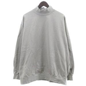 グラフペーパー Graphpaper 20AW Heavy Weight Mock Neck Hem Rib Tee 長袖Tシャツの買取実績