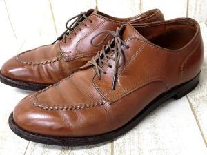 【ALDEN/オールデン】 ●54031 UNITED ARROWS ユナイテッドアローズ 外羽根式 Uチップ ドレス シューズ 茶 6.5 ビジネス 革靴