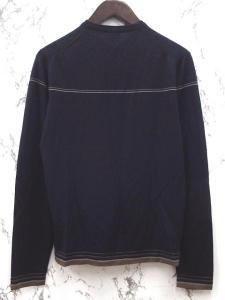 ポールスミスコレクション PAUL SMITH COLLECTION ニット セーター カットソー Vネック ウール 紺 M ☆の買取実績