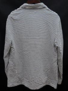 未使用品 エンジニアードガーメンツ Engineered Garments 16SS ニット ジャケット Knit Jacket-St. French Terry ボーダー S 白紺の買取実績