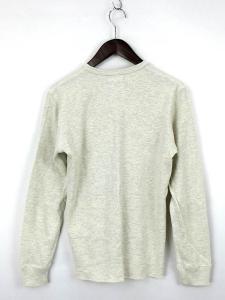 ビームス BEAMS Tシャツ 長袖 カットソー クルーネック ロゴ コットン 杢ベージュ系 S メンズの買取実績