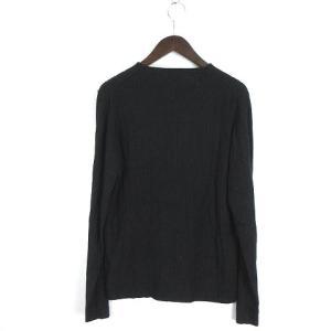 アルマーニ コレツィオーニ ARMANI COLLEZIONI セーター ニット 長袖 シルク 黒 ブラック 48 メンズの買取実績