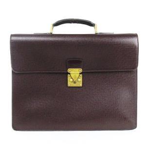ルイヴィトン LOUIS VUITTON タイガ セルヴィエット モスコバ ブリーフケース M30036 アカジュー ビジネスバッグ 書類鞄 メンズ