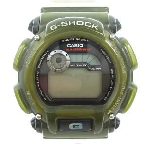 カシオジーショック CASIO G-SHOCK ジャンク 腕時計 G-LIDE 1627 DW-9000 クリア カーキ メンズの買取実績