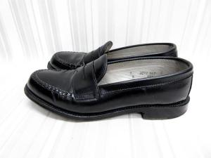 【ALDEN/オールデン】 981 レジャー ハドソーン カーフレザー コイン ローファー 靴 7D ブラックの買取実績