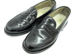 【ALDEN/オールデン】 987 ローファー コードバン コイン ペニー 革靴 7 B/D 黒