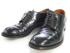 オールデン ALDEN コードバン モディファイドラスト プレーントゥ オックスフォード ローファー バラブーツ ビジネス シューズ 靴 Reject リジェクト品 7 1/2 53511 0204