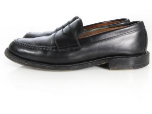 オールデン ALDEN BEAMS 別注 BPR ローファー シューズ 靴 コイン レザー 6 1/2 99861 黒 160303の買取実績