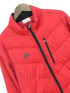 アディダス adidas ジャケット ダウン ゴルフ ウェア 長袖 L 赤 秋冬 161116 レディースの買取実績
