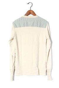 2013AW ANACHRONORM アナクロノーム Bosom Henley Neck L/S T-shirt ヘンリーネックシャツカットソー 01/◆の買取実績