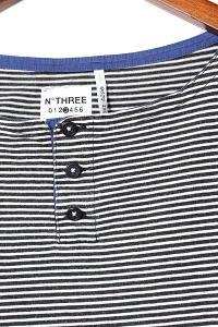 2013SS BEDWIN ベドウィン L/S OG BOREDER BH-NECK T HART ヘンリーネック ボーダーTシャツ カットソー ブラック 3 春夏/◆の買取実績