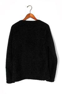 2015AW WILD THINGS ワイルドシングス Mt Design 3776 マウントデザイン Mountain Fleece Cardigan フリースカーディガン 38 Black/●の買取実績
