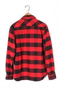 X-LARGE エクストララージ L/S BUFFALO CHECK SHIRT ヘビーコットン バッファローチェックシャツ L 赤黒/◆の買取実績