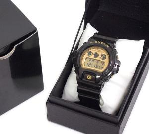 【G-SHOCK/ジーショック】 DW-6900BR 腕時計 黒×金
