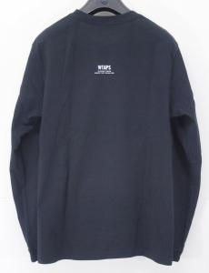 ダブルタップス WTAPS ブランド ロゴ プリント 長袖 Tシャツ 黒 1 メンズの買取実績