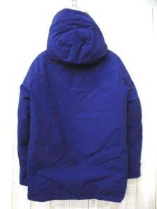ダントン DANTON ダウン ジャケット ラクーンファー フード 38 ブルーの買取実績