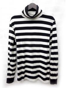 【HAVERSACK/ハバーサック】 Tシャツ ボーダー タートルネック 長袖 白 黒 Lの買取実績