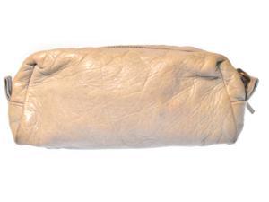 バレンシアガ BALENCIAGA ポーチ レザー コスメ 化粧 ミニ グレー系 160813の買取実績