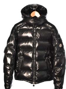 モンクレール MONCLER ダウン ジャケット コート MAYA マヤ 黒 size 1 国内正規品 秋冬160918