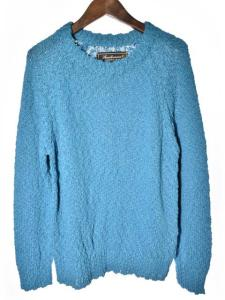 アナクロノーム anachronorm セーター ニット ターコイズブルー 長袖 01 161028 メンズ