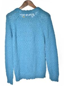 アナクロノーム anachronorm セーター ニット ターコイズブルー 長袖 01 161028 メンズの買取実績