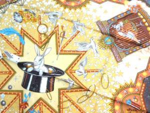 エルメス HERMES スカーフ カレ 大判 シルク100% うさぎ柄 茶系 SSAW 正規 705-Xの買取実績
