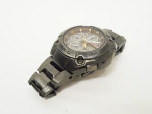カシオジーショック CASIO G-SHOCK MRG 腕時計 ウォッチ タフソーラー 電波 チタン クロノグラフ メタルバンド 黒 ブラック ダークグレー MRG-7100BJ-1AJF/☆H08 メンズ レディースの買取実績