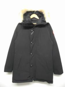 カナダグース CANADA GOOSE ジャスパー ダウンジャケット ジャンパー ロゴ ワッペン コヨーテファー フード ナイロン 黒 ブラック M 68F8490 jasper/R227 メンズの買取実績