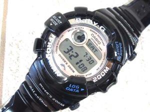 ベビージー Baby-G フロッグマン 腕時計 イルカクジラ 御蔵島 クオーツ BGW-103K-2JR ブルー 美品の買取実績