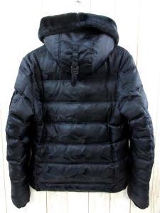 5351プールオム 5351 POUR LES HOMMES ダウン ジャケット ブルゾン MA-1型 迷彩 カモフラ ミリタリークロス 2 黒 ブラック 2015AW 秋冬の買取実績