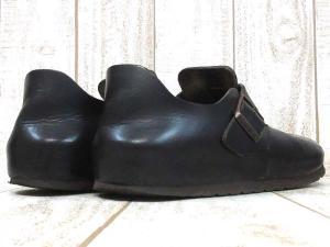 ビルケンシュトック BIRKENSTOCK サンダル ロンドン LONDON レザー 本革 靴 黒 ブラック 39 メンズの買取実績