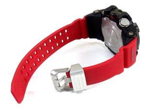 カシオジーショック CASIO G-SHOCK マッドマスター MUDMASTER GWG-1000RD-4AJF レスキューレッド 電波 ソーラー 腕時計 新品同様 メンズの買取実績