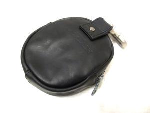未使用品 【BACKLASH/バックラッシュ】 ステアハイドレザー ポーチ バッグ 黒の買取実績