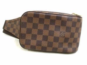 ルイヴィトン LOUIS VUITTON 美品 ダミエ ジェロニモス エベヌ ボディバッグ ウエストバッグ 新型 N51994