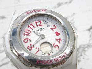 ベビージー Baby-G BGA-105 5059 ハートインデックス 腕時計 クォーツ 防水 白 ホワイト ※KT
