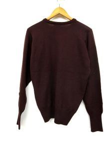 マーガレットハウエル MARGARET HOWELL ニット セーター ウール 長袖 カットソー 茶系 ※OA 161029 メンズの買取実績