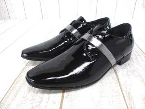 【Acne Studios/アクネ ストゥディオズ】 靴 Pel Patent Black ペルパテント シューズ 38 ブラック