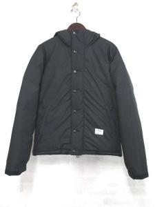 ベドウィン BEDWIN 15AW HOODED DOWN JKT QUINE ダウンジャケット フーデッド 黒 ブラック 1 美品