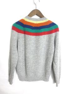 ジャミーソンズ jamieson's セーター ウール ニット グレー M 160307 秋 冬の買取実績