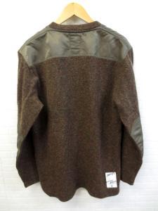 ファイブオー FIVE O DUPPIES Vネック ツイード ミリタリー セーター XLの買取実績