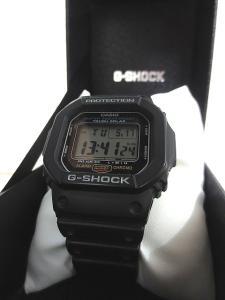 ジーショック G-SHOCK CASIO 3160 G-5600E タフソーラ 腕時計の買取実績
