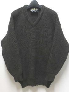 【Barbour/バブアー】 ウール ニット セーター36/91cm深緑