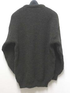 【Barbour/バブアー】 ウール ニット セーター36/91cm深緑の買取実績