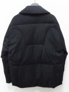 アンテプリマ ANTEPRIMA ダウン ジャケット ショールカラー ウール 38 紺の買取実績
