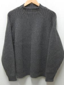 アルフレッドダンヒル ALFRED DUNHILL カシミヤ ニット セーター S グレー 長袖の買取実績