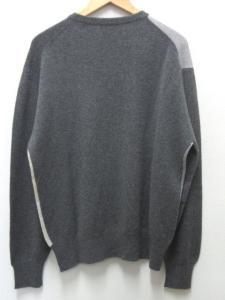 新品 バランタイン BALLANTYNE カシミヤ ニット セーター 46 グレー ベージュ オフ白 長袖の買取実績